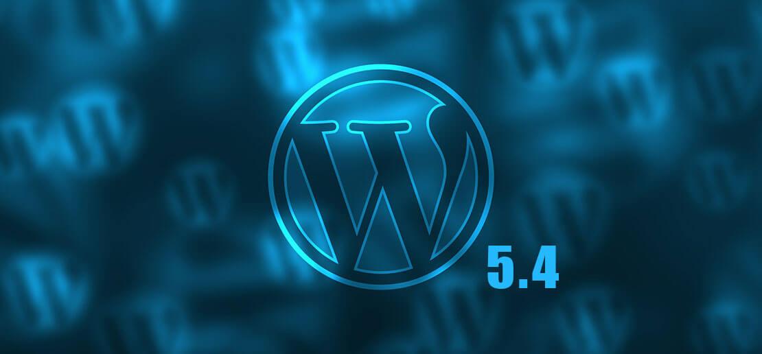 WordPress 5.4 Update
