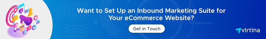 eCommerce Inbound Marketing Suite Setup - CTA 2