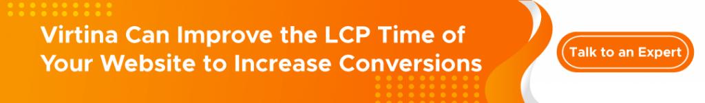 Improve Largest Contentful Paint (LCP) CTA